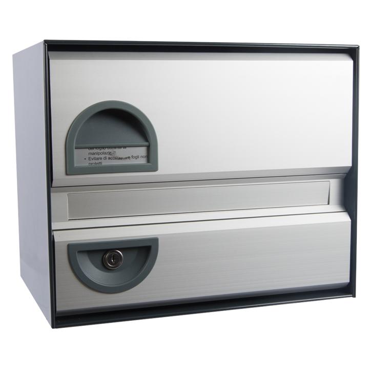 namensschild swissbox basic briefkasten. Black Bedroom Furniture Sets. Home Design Ideas